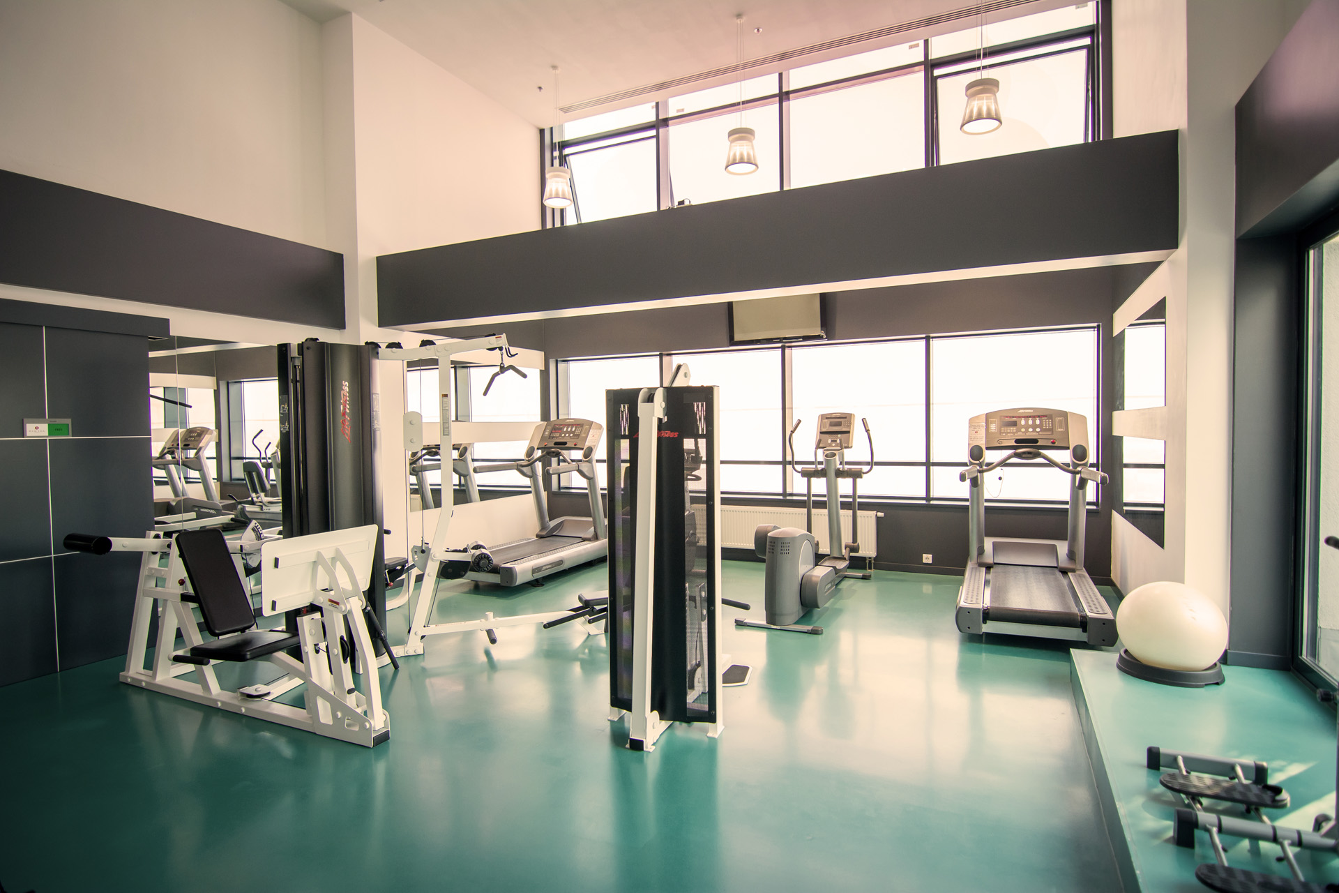 fitness-gym room